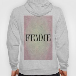 Femme Hexagon Abstract Hoody