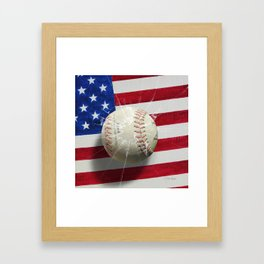 Baseball - New York, New York Framed Art Print