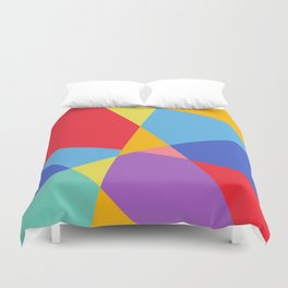 Fragmented Experience Duvet Cover