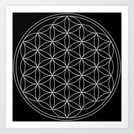 Flower of Life : Sacred Geometry Art Print