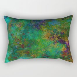 HAND-PAINTED UNIVERSE Rectangular Pillow
