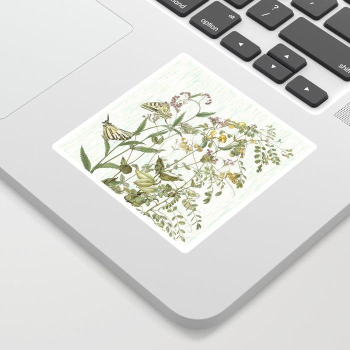 Cultivating my mind garden Sticker