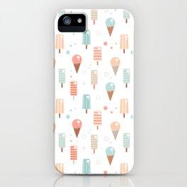 Vintage ice cream iPhone Case