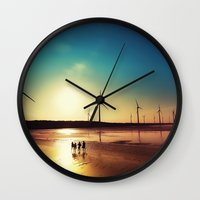 bond Wall Clocks featuring Friendship Bond by tourmania