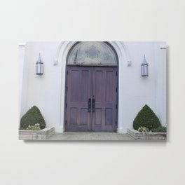Doors of Grace Metal Print