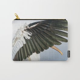 Wood stork's wing Carry-All Pouch