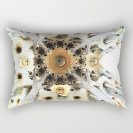 Sagrada Cathedral Sky Rectangular Pillow