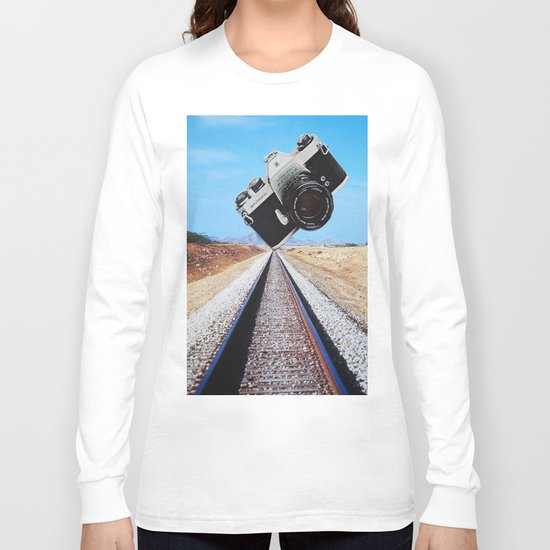 Pentax on the Tracks Long Sleeve T-shirt