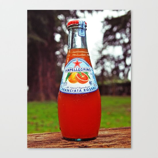 Delicious San Pellegrino Canvas Print