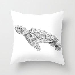 sea's wise man Throw Pillow
