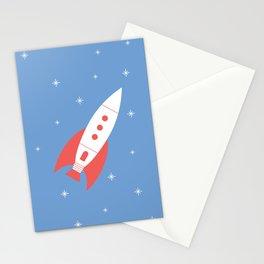 #78 Rocket Stationery Cards
