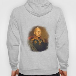 Sir Patrick Stewart - replaceface Hoody
