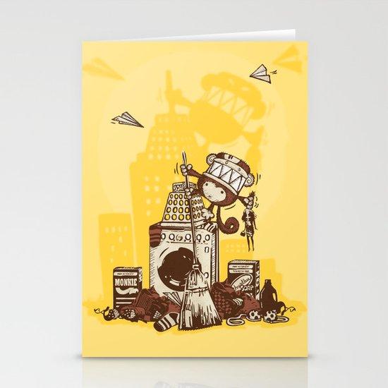 Laundry Monkie Stationery Cards