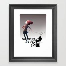 CMA G Framed Art Print