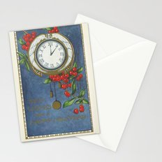 Best Wishes for a Vintage New Year Stationery Cards
