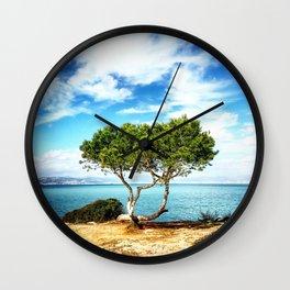 Tree in Focus Wall Clock