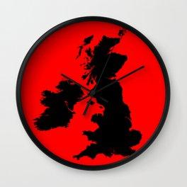An American Werewolf in London Wall Clock