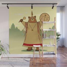 Bear Shaman Wall Mural