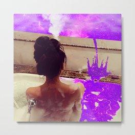 Bathtime Metal Print