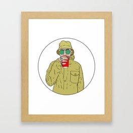 "Mac Miller R.I.P ""Juice"" Framed Art Print"
