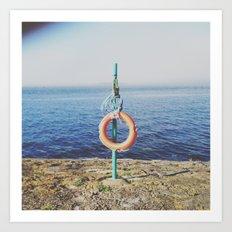 save me // instagram // Art Print