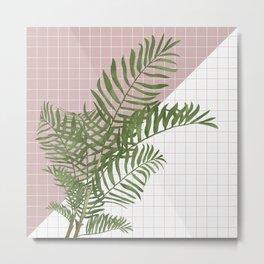 BOTANICAL - ARECA PALM Metal Print