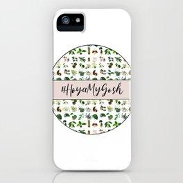 #HoyaMyGosh Confetti  iPhone Case