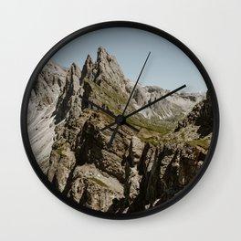 Seceda & The Marmot Wall Clock