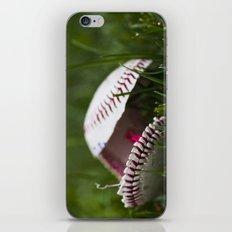 Broken Baseball  iPhone & iPod Skin