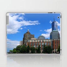 Manhattan And Hudson River Laptop & iPad Skin
