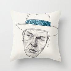 Sinatra Throw Pillow