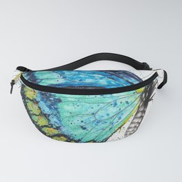 Morning Citrus Butterfly Fanny Pack