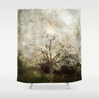 The Ghosts in the Trees Shower Curtain