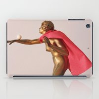 super hero iPad Cases featuring super hero by bmkoc