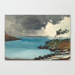 Winslow Homer. The Coming Storm. 1901 Canvas Print
