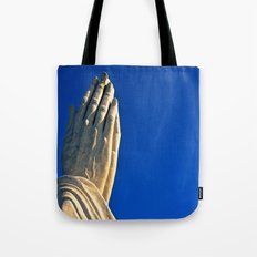 The Day's Final Prayer Tote Bag