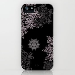 Silent Snow iPhone Case
