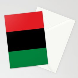 flag of Pan-Africanism or Unia Stationery Cards