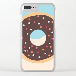 Doughnut Set 6 Clear iPhone Case