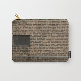 Brick Wall with Conduit and Window Carry-All Pouch
