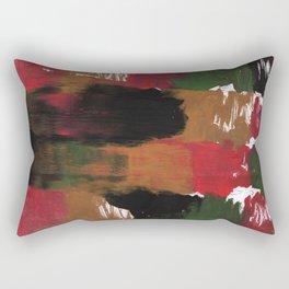 Multicolor watercolor Rectangular Pillow