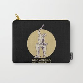 Keep Working On Yourself Carry-All Pouch