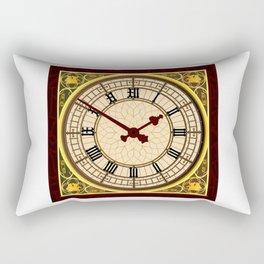 Big Ben at Clock Face Rectangular Pillow