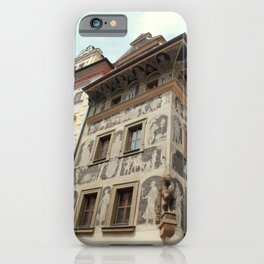 The House at the Minute Prague iPhone Case