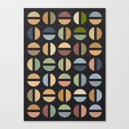 Beige Color Combinations Canvas Print