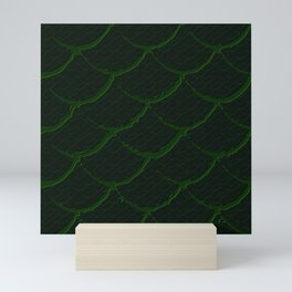 Reptile green Mini Art Print