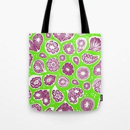 Frutti Purple Green Tote Bag