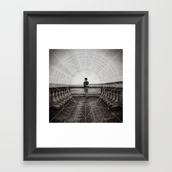 pier | side A Framed Art Print