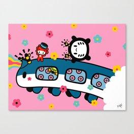 train train train.... Canvas Print
