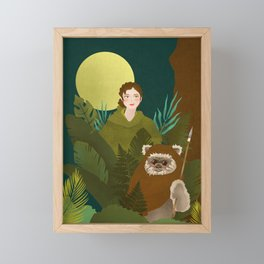 Guardians of The Forest Framed Mini Art Print